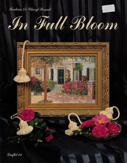 Barbara & Cheryl In Full Bloom cross stitch pattern