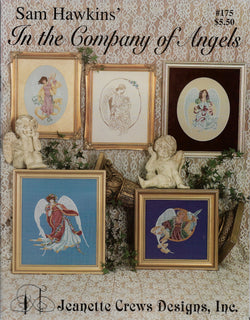 Jeanette Crews Sam Hawkins In The Company of Angels cross stitch pattern