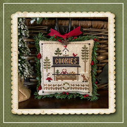 Little House Needleworks Jack Frost Cookies part 7 christmas cross stitch pattern