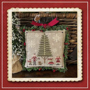 Little House Needleworks Jack Frost Tree Farm - Family Fun part 3 of 7 cross stitch pattern