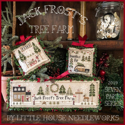 Little House Needleworks Jack Frost's Tree Farm part 1 Christmas cross stitch pattern