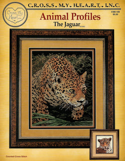 Cross My Heart Jaguar CSB-109 cross stitch pattern