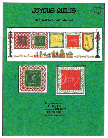 Imaginating Joyous Quilts 2545 cross stitch pattern