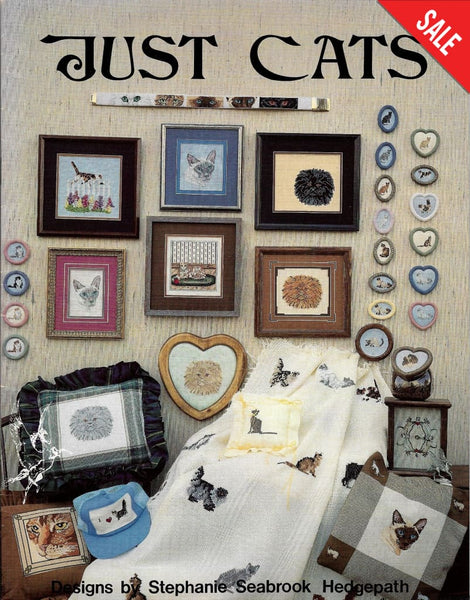 Pegasus Just Cats 123 cross stitch pattern