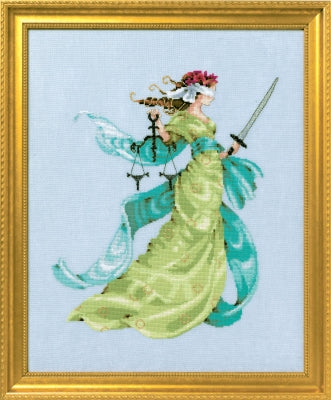 Mirabilia Lady Liberty MD160 victorian cross stitch