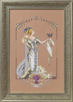 Mirabilia Lady Mirabilia MD-158 victorian cross stitch