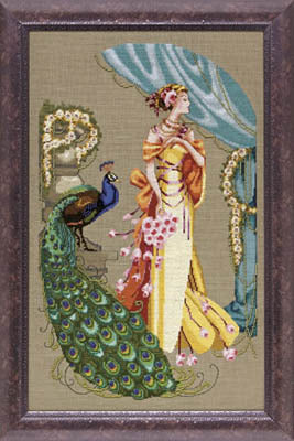 Mirabilia Lady Hera MD-107 victorian cross stitch