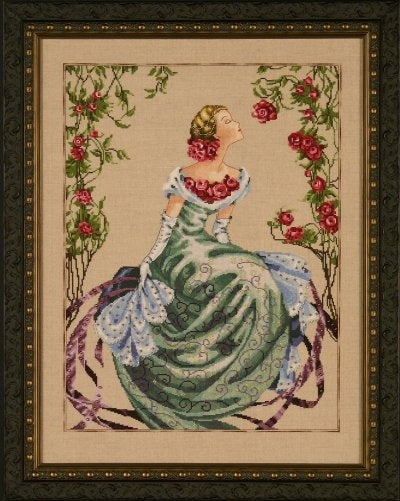 Mirabilia Lady of the Mist MD93 cross stitch pattern