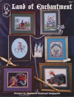 Pegasus Land of Enchantment 164 dragon cross stitch pattern