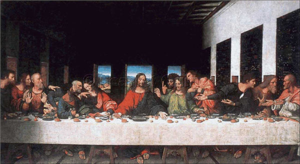 Scarlet Quince The Last Supper cross stitch pattern