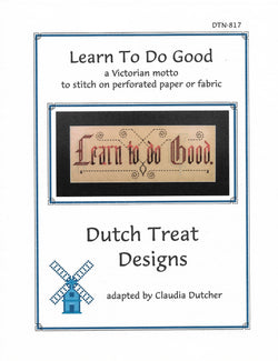 Dutch Treat Designs Learn to do good cross stitch pattern