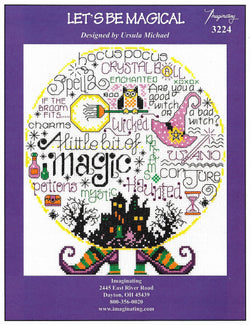 Imaginating Let's Be Magical 3224 Halloween cross stitch pattern
