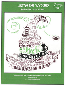 Imaginating Let's be wicked 2901 cross stitch pattern