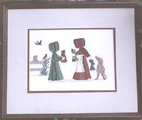 Diane Graebner Let's Share DGX-031 Amish cross stitch pattern