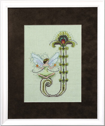 Mirabilia Letters from Nora J cross stitch pattern