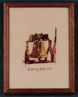 Kneedle Knack Liberty Bell cross stitch kit