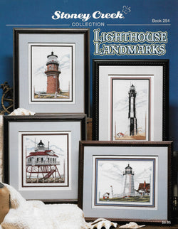 Stoney Creek Lighthouse Landmarks, BK254 crosss stitch pattern