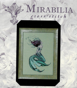 Mirabilia Lilith of Labrador MD167 mermaid cross stitch pattern