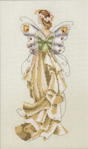 Mirabilia Lilly NC110 Pixie Couture victorian cross stitch