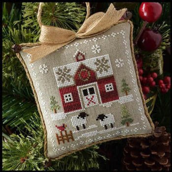 Little House Needleworks Little Red Barn Farmhouse Serires #1 cross stitch pattern