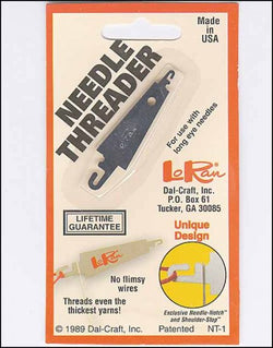 LoRan needle threader cross stitch