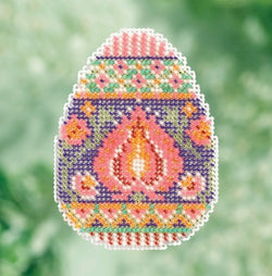 Mill Hill Lotus Egg beaded cross stitch kit MH18-1712