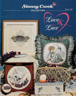 Stoney Creek Love & Lace cross stitch pattern