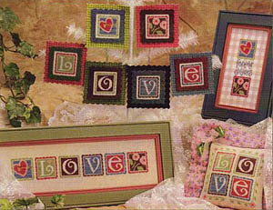 Lizzie Kate Love Crazy LK127 cross stitch pattern