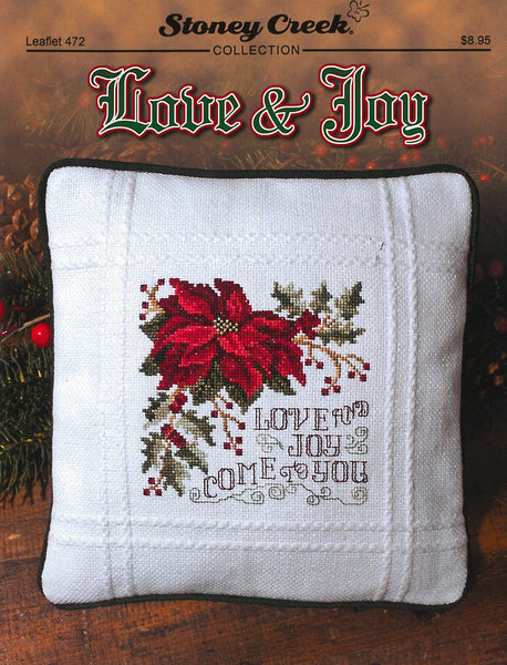 Stoney Creek Love & Joy LFT472 Christmas cross stitch pattern