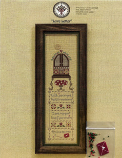 Full circle Designs Love Letter cross stitch pattern
