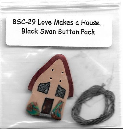 Black Swan Love Makes A House Embellishment pack, BSC-29