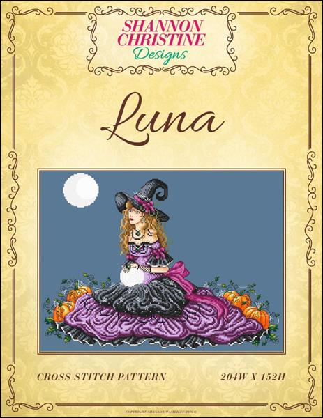 Shannon Christine Designs Luna cross stitch pattern