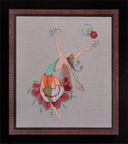 Mirabilia Lyrical NC156 Muse victorian cross stitch