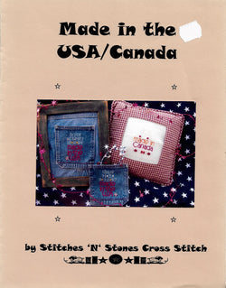 Stitches 'N Stones Made in USA/Canada cross stitch pattern