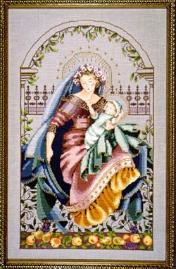 Mirabilia Madonna of the Garden Nora Corbett MD-79 cross stitch pattern