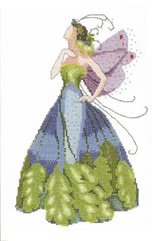 Mirabilia Maidenhair NC167 Pixie Couture victorian cross stitch