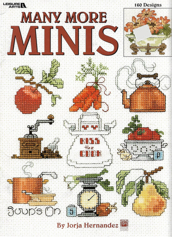 Leisure Arts Many More Minis cross stitch pattern