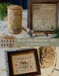 Blackbird Designs Maria Selby Humphrey 1831 cross stitch patterm