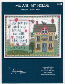 Imaginating Me and My House religious cross stitch pattern