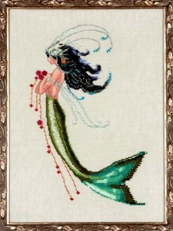 Mirabilia Mermaid Verde NC-192 cross stitch pattern