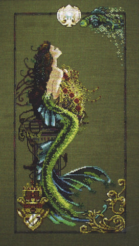 Mirabilia Mermaid of Atlantis Nora Corbett MD-95 cross stitch pattern