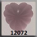 Mill Hill 12072 Frosted Starburst Heart - Matte Rose