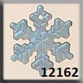 Mill Hill Crystal Treasure 12162 Medium Snowflake - Matte Crystal AB