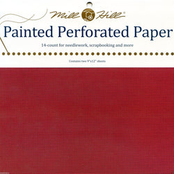 Mill Hill Painted Perforated Paper