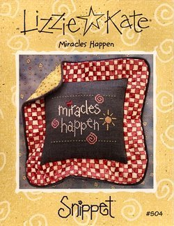 Lizzie Kate Miracles Happen S04 cross stitch pattern