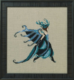 Mirabilia Miss Beetle NC259 insect victorian cross stitch