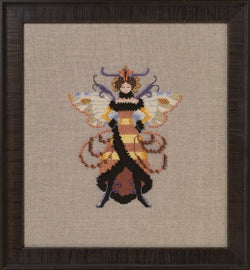 Mirabilia Miss Honey Bee NC262 victorian cross stitch