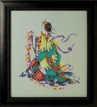 Mirabilia Miss Dancing Flower MD170 cross stitch pattern