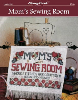 Stoney Creek Mom's Sewing Room LFT240 cross stitch booklet