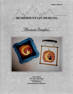 Bushmountain Designs Mooncat Pumpkin Halloween cross stitch pattern